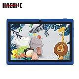 Haehne 7 Zoll Tablet PC, Google Android 4.4, Quad Core A33 8GB ROM, Zwei Kameras, Bluetooth, WiFi, Blau
