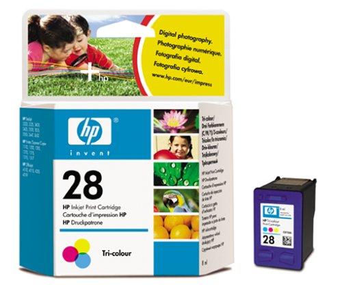 HP 28 Farbe Original Druckerpatrone für HP Deskjet, HP Officejet, HP PSC