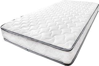 タンスのゲン マットレス シングル ボンネルコイル 厚み17cm 高密度 コイル数352個 硬め ベッドマット 通気性 ベッドマットレス ホワイト AM 000077 01(72473)