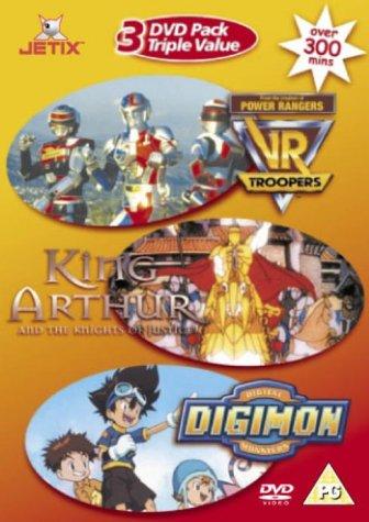 Digimon / King Arthur / VR Troopers