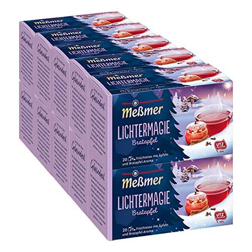 Meßmer Lichtermagie Bratapfel, 20 Beutel, 10er Pack (10 x 50 g)