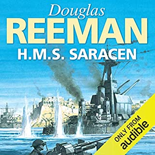 H.M.S. Saracen                   By:                                                                                                                                 Douglas Reeman                               Narrated by:                                                                                                                                 David Rintoul                      Length: 10 hrs and 58 mins     56 ratings     Overall 4.6