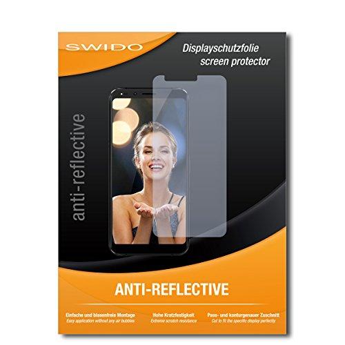 SWIDO Schutzfolie für Allview X4 Soul Infinity Plus [2 Stück] Anti-Reflex MATT Entspiegelnd, Hoher Festigkeitgrad, Schutz vor Kratzer/Bildschirmschutz, Bildschirmschutzfolie, Panzerglas-Folie
