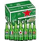 【瓶ビール】【夏限定】ハイネケンワールドデザイン 瓶 [ ピルスナー 日本 330ml×24本 ]