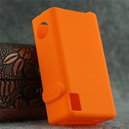 Silicone Case for VaporShark rDNA40 Cover Sleeve Vapor Shark rDNA 40 Skin Wrap Shield (Orange)