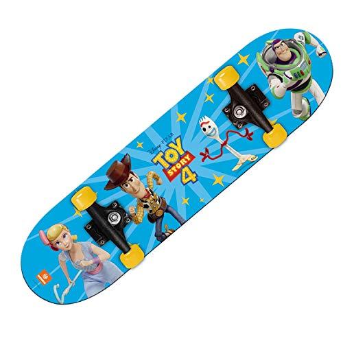 Mondo Toys -  Skateboard Toy Story 4 - ruote PVC - 9 strati board - 80 x 20 - 28508