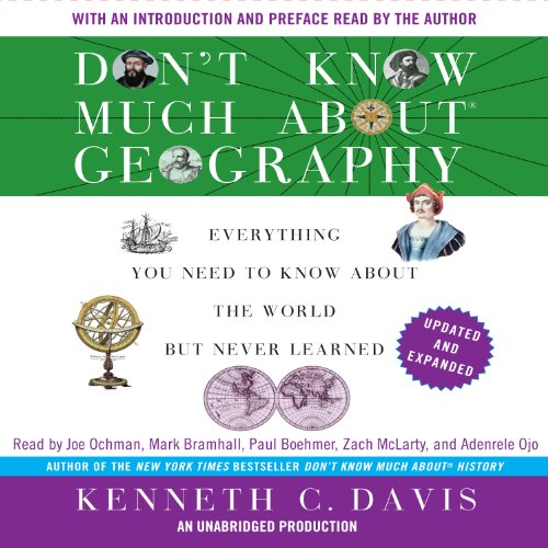 Don't Know Much About Geography: Revised and Updated Edition audiobook cover art