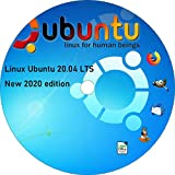 Ubuntu Linux 20.04 Latest Version 2020 Bootable DVD