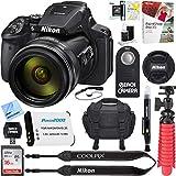 Emmabin Camera Nikon COOLPIX P900 16MP 83x Super Zoom 4k Wi-Fi GPS Digital Camera + 64GB Memory & Accessory Bundle