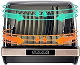 Sooiy Gabinete de esterilización UV, Caja de desinfección de Gran Capacidad, hogar esterilización UV Panel táctil, Acero Inoxidable, Modo ecológico, una Hora, Vidrio de desinfección 42L Dishwasher