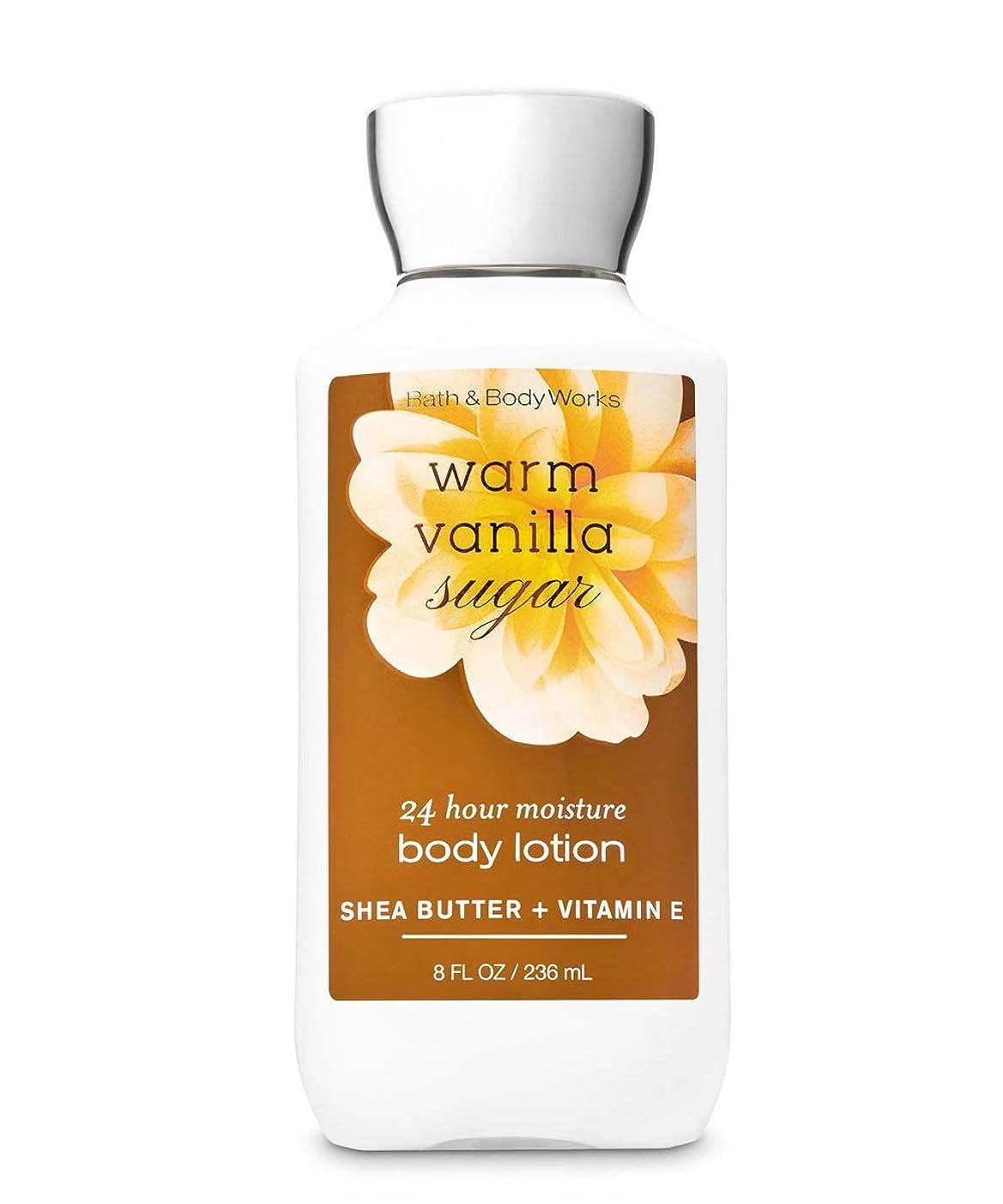 失敗スイング驚きバス&ボディワークス ウォームバニラシュガー ボディローション 236ml(8oz) Body Lotion Warm Vanilla Sugar【並行輸入品】
