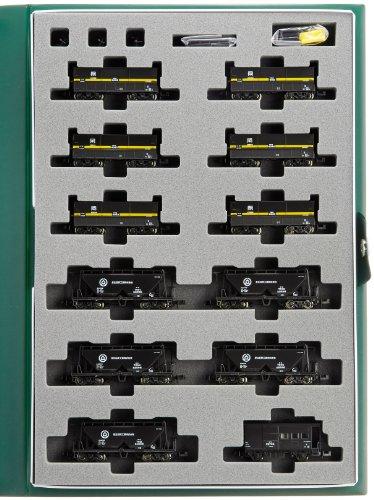 伯備線石灰輸送貨物列車 12両セット 10-1158