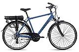 Adore Trekking E-Bike Herren 28'' Pedelec Marseille schwarz 250Watt Li-Ion 37V/13Ah 24Gänge