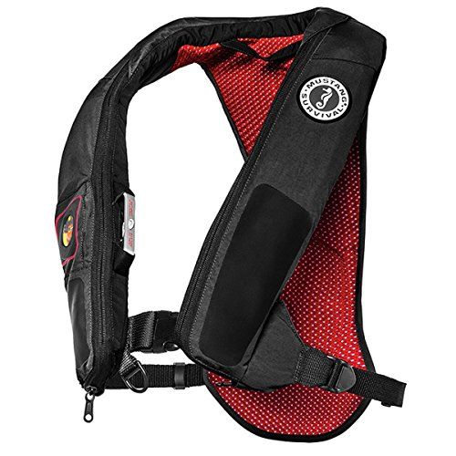 Why Choose Mustang Survival Corp Elite 38 Automatic Inflatable PFD, Gray/Red