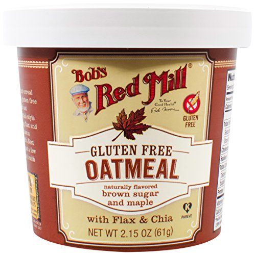 Bobs Red Mill Gluten Free Oatmeal Cup, Maple Brown Sugar, 8 Count