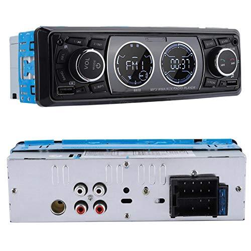 FOLOSAFENAR Audio estéreo para automóvil, Reproductor de MP3, Ligero y Resistente para Radio de Audio para automóvil para Exteriores