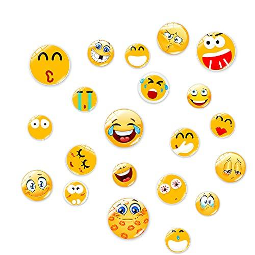 21 Smiley Magnete Kühlschrankmagnete Magnete Kinder, Kleine Lustige Magnete Für Küche, Zuhause, Schule, Klassenzimmer, Whiteboard, Niedliche Dekoration
