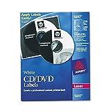 Best cd label maker - AVERY 5697 Laser CD Labels, Matte White Review