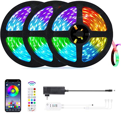OxyLED Motion Sensor Closet Lights + 50ft LED Strip Lights