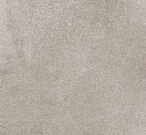 Gartenwelt Riegelsberger 21,6 M² KERAMIKPLATTE Cemento Smoke 60x60x2CM FEINSTEIN MODERN FROSTSICHER TERRASSE FEINSTEINZEUG BODENPLATTEN TERRASSENPLATTEN Made IN Italy