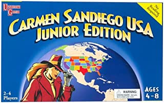 Carmen Sandiego USA Junior Edition (Board Game)