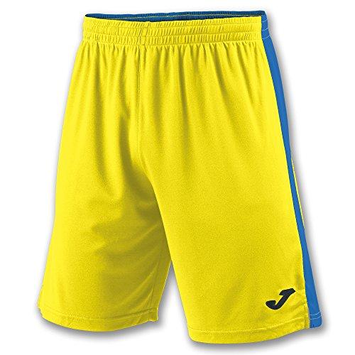Joma Tokio II Pantalones Cortos, Hombre, Multicolor (Amarillo/Azul Royal), 6XS-5XS