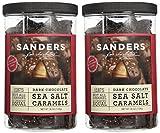 Sanders Dark Chocolate Sea Salt Caramels - 36 Oz (Value 2 Pack) from Sanders