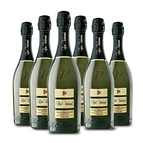 Col Vetoraz - VALDOBBIADENE Prosecco Superiore Extra Dry - 6 Bt. Cl. 75 - Col Vetoraz