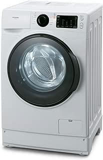 アイリスオーヤマ ドラム式洗濯機 洗濯機 8kg 温水洗浄機能付き 幅607mm 奥行572mm ホワイト FL81R-W