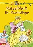 Conni Gelbe Reihe (Beschäftigungsbuch): Rätselblock für Kuscheltage: Kinderbeschäftigung ab 4