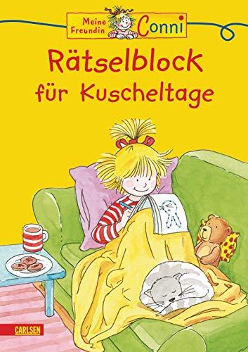 Conni Gelbe Reihe: Rätselblock für Kuscheltage: Kinderbeschäftigung ab 4