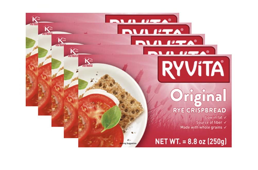 Ryvita Rye Crispbread Original of 8.8oz Pack SALENEW very popular! 5 We OFFer at cheap prices