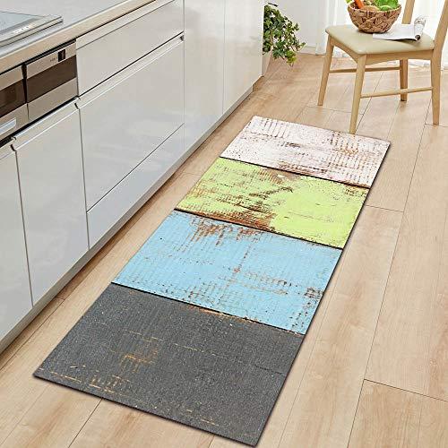 Tappeto per corridoio interno Tappetino per pavimento in marmo Tappeto per cucina Tappeto per ingresso di benvenuto Tappetino per assorbimento d'acqua Tappeto per bagno Tapete A5 50x80cm + 50x160cm