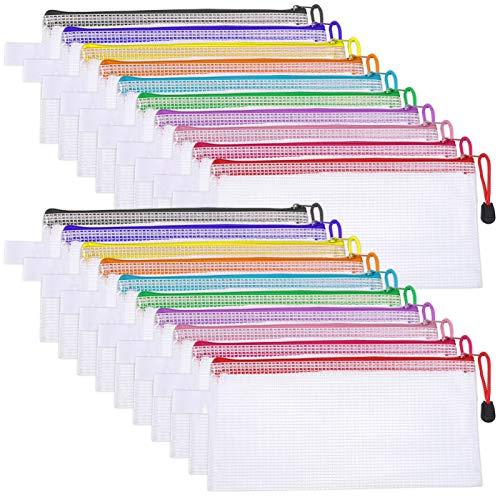 RosewineC 20 PCS Clear Pencil Ca...