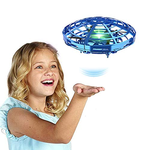 Boy Toys Age 6 7 8 9 10,Cool Hand Operated Mini Drone for Kids,Small UFO Helicopter Indoor Hover Flying Ball,Most Popular for 4 5 Year Old Boys,Top Birthday Presents for 11 12 13 14 Teens