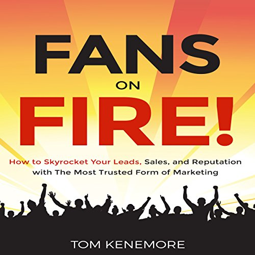 Fans on Fire audiobook cover art