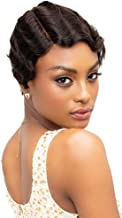 Janet Collection 100% Human Remy Hair Wig Mommy Parting Wig (1B)