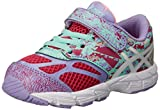 ASICS Kids Noosa Tri 10 TS Running Shoe Cabernet/White/Violet 4 M US Toddler