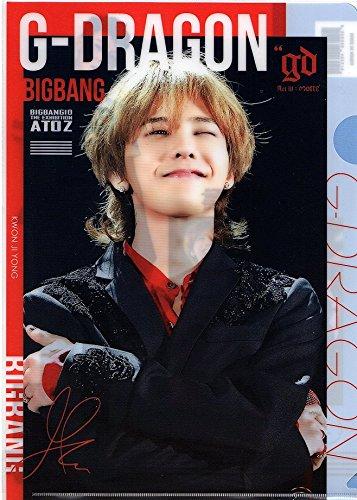 韓国 K-POP ☆BIGBANG ビックバン G-DRAGON☆ クリアファイル A4サイズ クリアホルダー �A