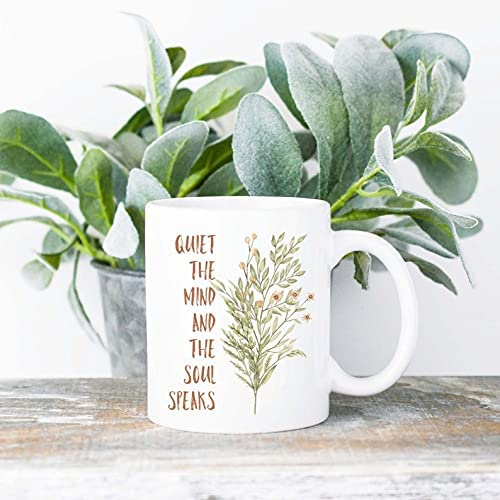 Quiet The Mind and Soul Mug Selling and selling 11oz 15oz Free shipping Speaks