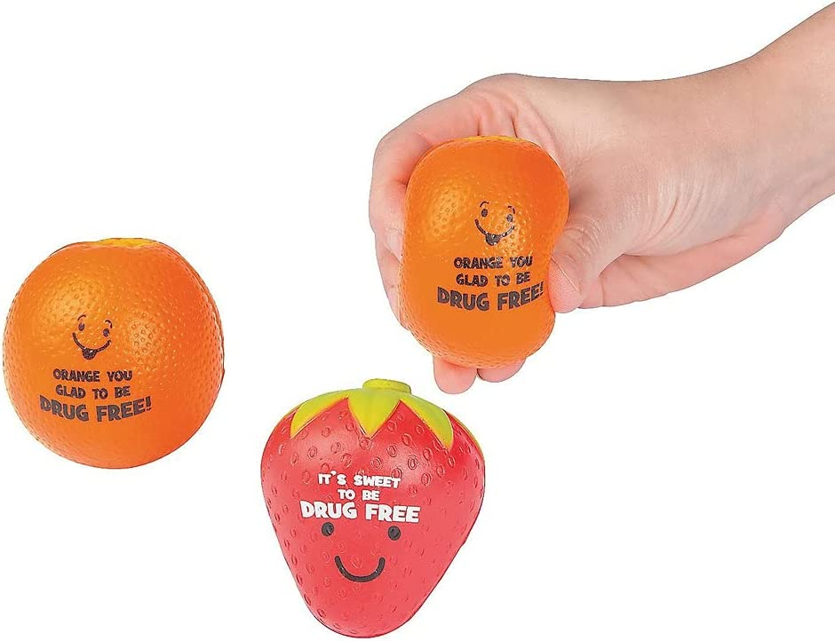 A.K. Jacksonville Mall AllYourNeed 12 Piece Free Character Stress Toys Fruit Ranking TOP12