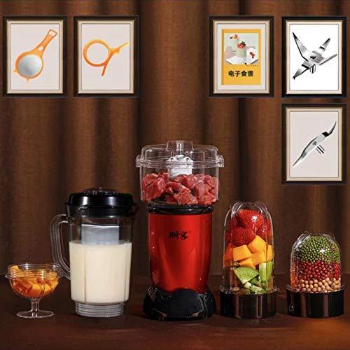 JIASENRATE 220V Multifunctional Electric Juicer Mini Household Automatic Blender Juicer Machine Mini Juicer,2