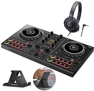 Pioneer dj スマート DJコントローラー DDJ-200 ヘッドホン DJセット ステッカー付き djセット ddj pcdj
