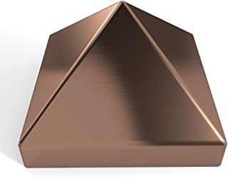 Willy`s Marine Hardware Copper Pyramid Metal Piling Cap