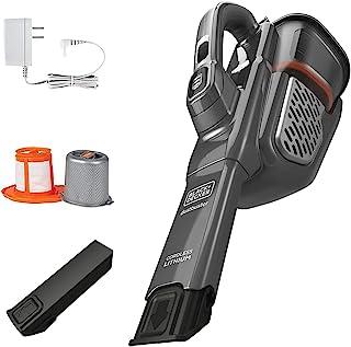 BLACK + DECKER Dusbuster aspiradora de Mano, sin Cable, Gris (HHVK415B01)
