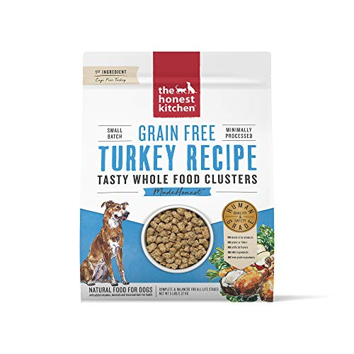 The Honest Kitchen Grain Free Whole Food Clusters Dog Food – Cage Free Turkey 5 lb