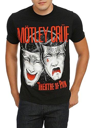 Global Merchandise Motley Crue Theatre of Pain Camiseta