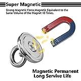 10 Pezzi Magneti al Neodimio Ad Rettangolo da Fissare con Viti a Filo 32x5mm 10pc Forza Magnetica 12 Kg Magneti Neodimio,32 X 5 mm Magneti al Neodimio Rettangolo