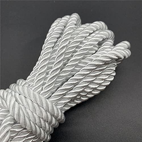 WEDSA 5 Yardas/Lote 5mm Cuerda de Paracord de 3 Hilos Cuerda de Polipropileno Accesorios de decoración del hogar Cuerda para Pulsera decoración rústica del hogar-01