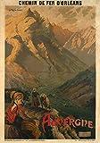 Chemin Eisen Orleans Auvergne Poster Reproduktion –